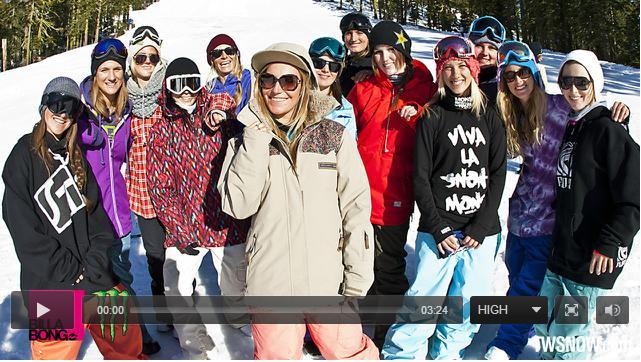 Ladies Take Over Sierra At Tahoe