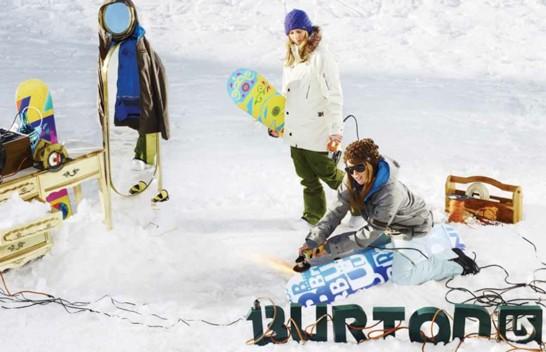 Burton Women's Team Edit!