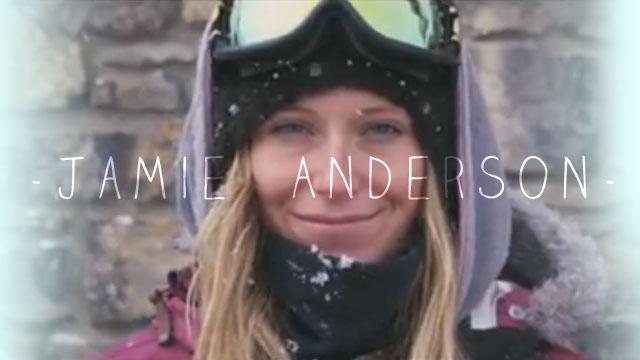 Jamie Anderson's Season Edit