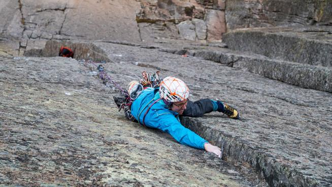 The Honeymoon Is Over // Madaleine Sorkin Climbs One of the Hardest Alpine Routes