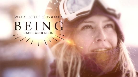 BEING: Jamie Anderson