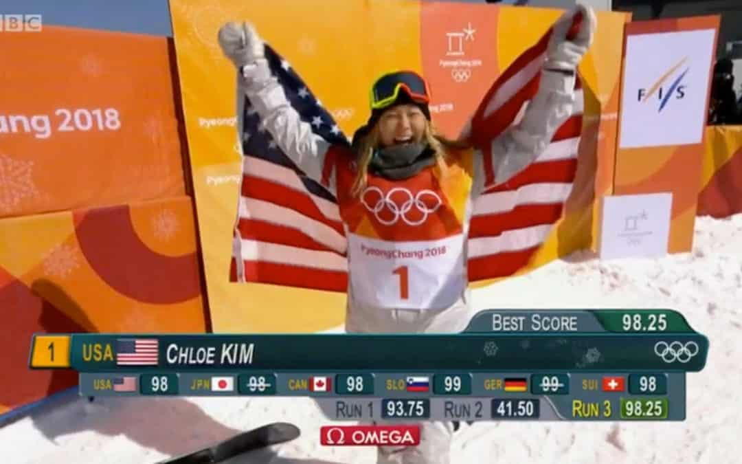 Chloe Kim's Gold Medal Olympic Runs
