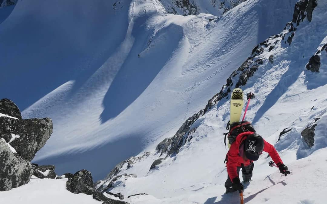 Revelstoke Mountain Guide Christina Lustenberger Skis First Descent in BC
