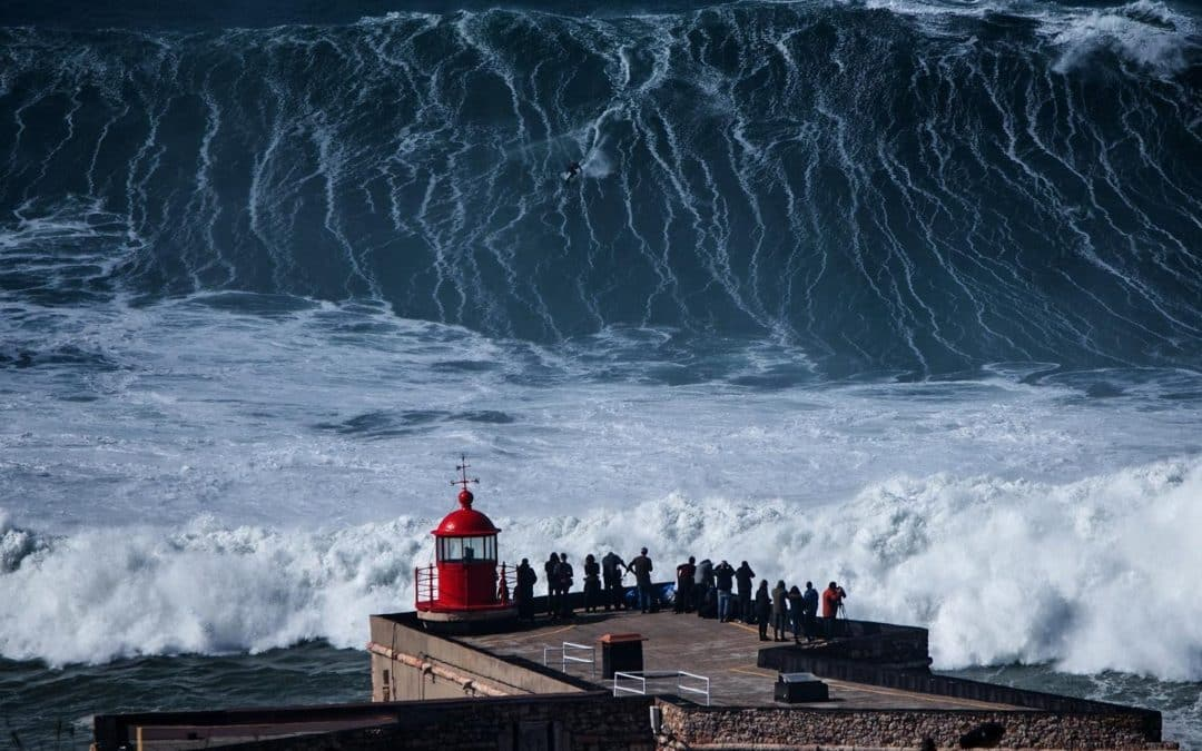 Watch: Surfing Nazare at its Biggest