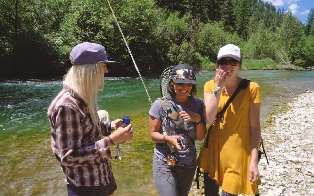 Sh*t Fly Fishing Girls Say