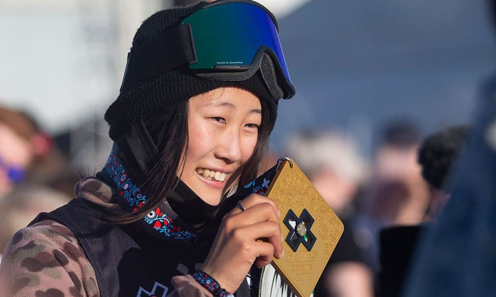 13-YEAR-OLD KOKOMO MURASE LANDS WOMEN'S FIRST DOUBLE CORK 1260