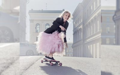 Amazing Humans: Lena the 61 year old Finnish Skateboarder