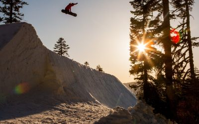 """SUNSET PARK SESSION WITH JAMIE ANDERSON & FRIENDS """"UNCONDITIONAL"""" SIERRA-AT-TAHOE"""