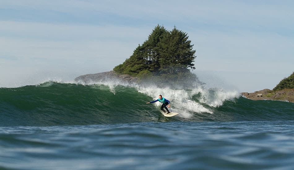 Tofino is a Place: Queen of the Peak Surfing