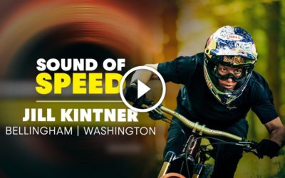SOUND OF SPEED: Jill Kintner is fully pinned