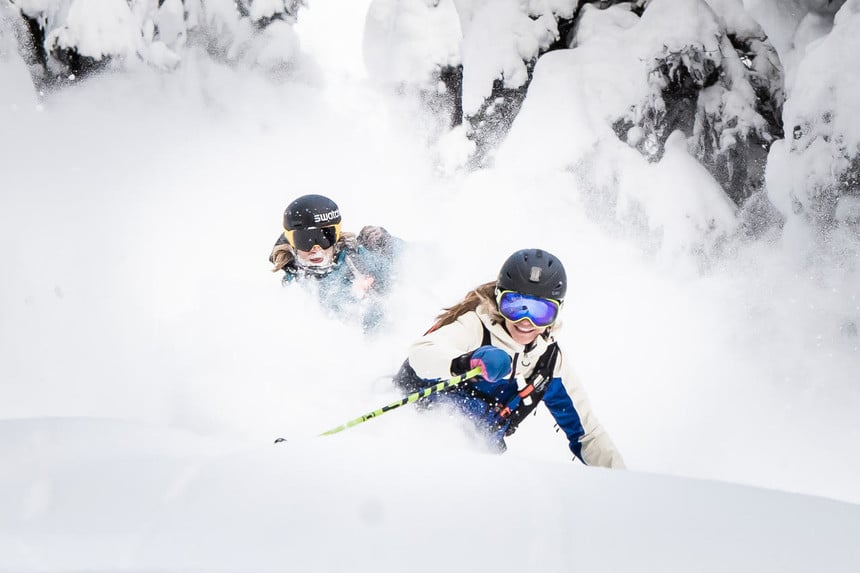 Cheaper Than Couples Therapy – Mica Heliskiing