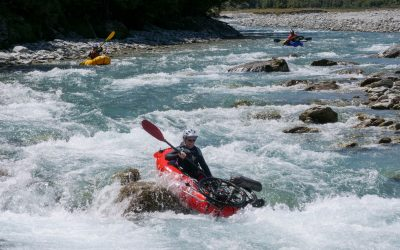 Helen's Journey — 68 years old and Bikerafting 101