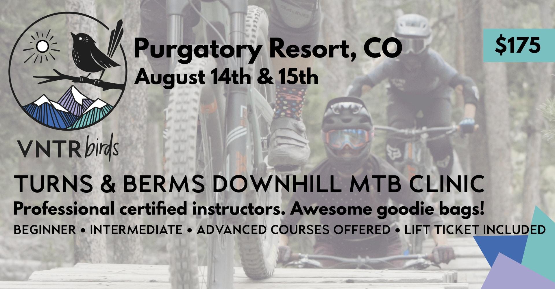 women's downhill mountain biking clinic