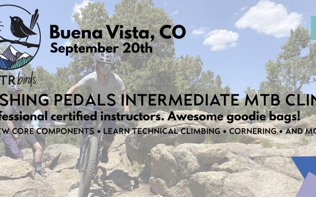 Pushing Pedals MTB Intermediate Clinic – Buena Vista